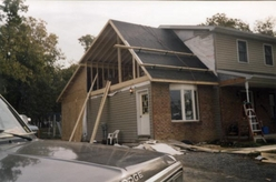 Addition on Back of House & Raised Front Roof