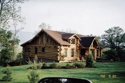 Cabin built by Bitner Construction