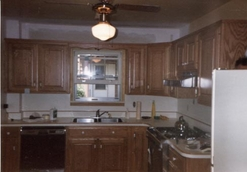New Kitchen Cabinets and Tops by Bitner Construction